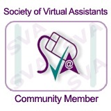 Society of Virtual Assistants Member