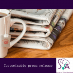 customiable press release for virtual assistants