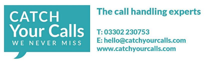 Catch Your Calls - Call Handling - Logo