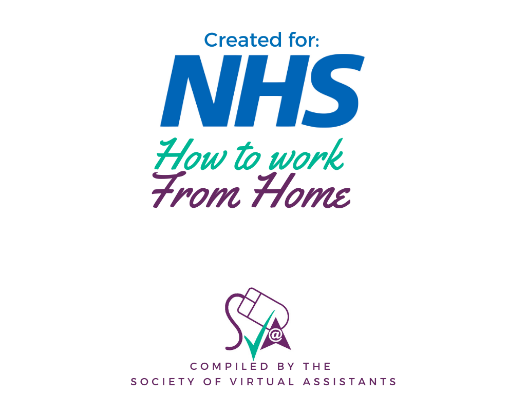 NHS Work from home